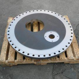 台板 SS4400 正面旋盤・縦型マシニング Φ970×50T