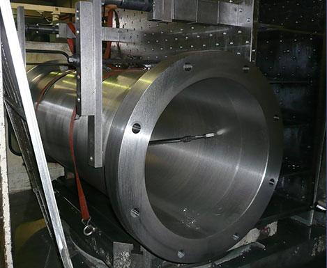 衝撃実験装置用外筒
