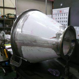 ホッパー 正面旋盤・縦型マシニング φ950×655L